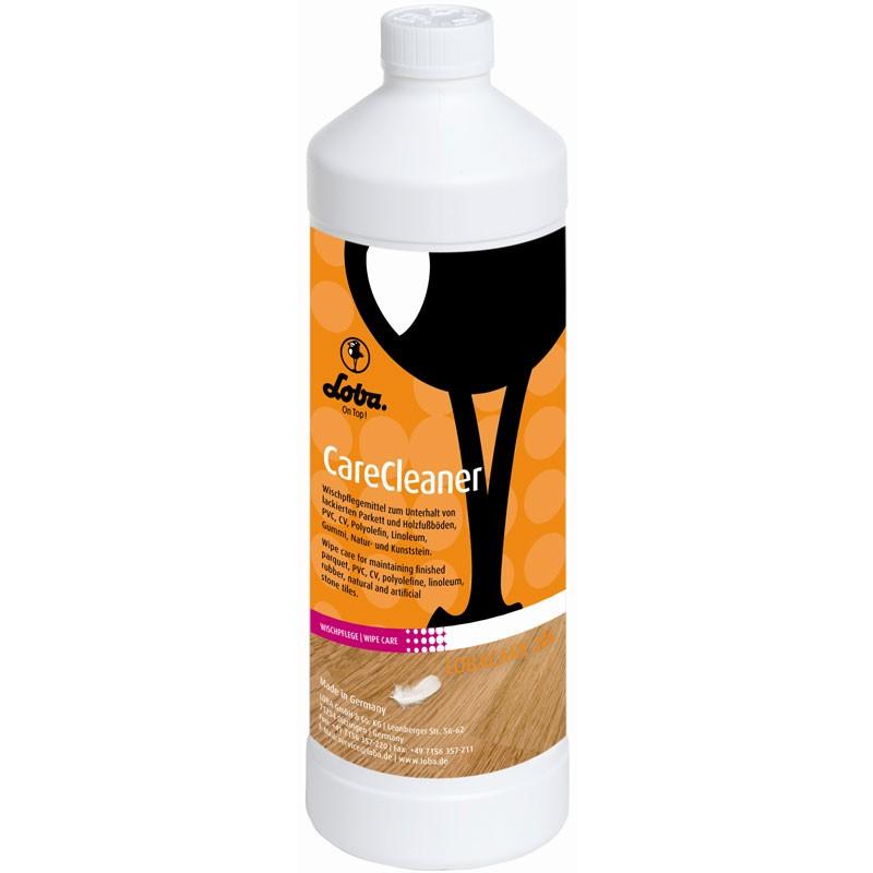 Loba - LOBACARE CareCleaner - 1 L  Wischpflegemittel für lackierte Holzfußböden