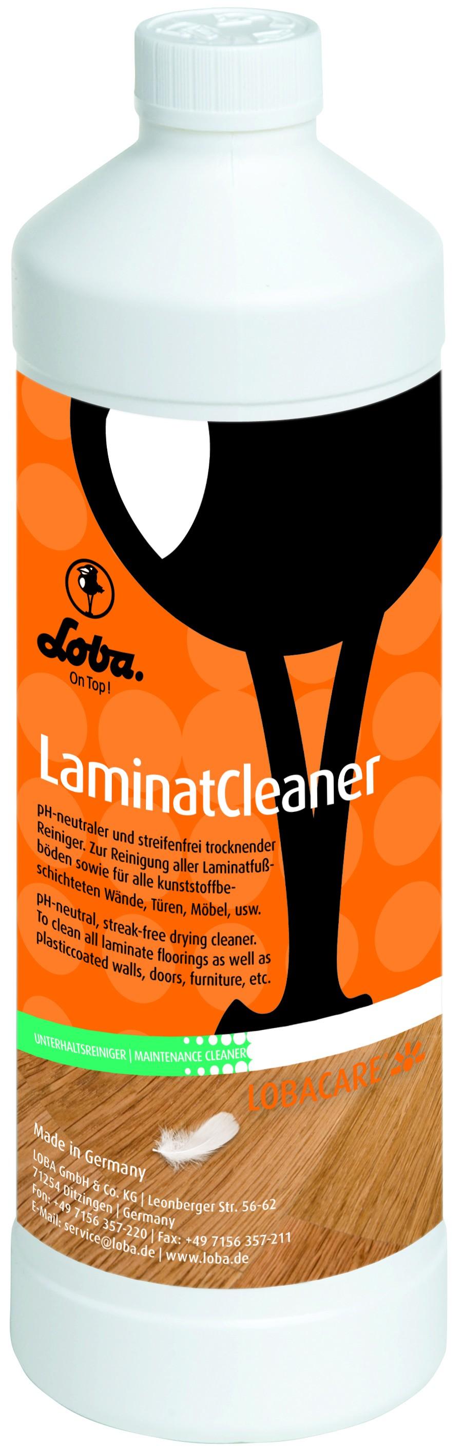 Loba - LOBACARE LaminatCleaner - 1 L Reiniger für Laminatboden